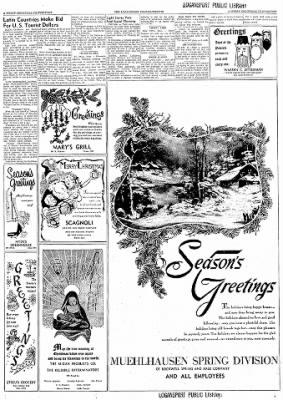 Logansport Pharos-Tribune from Logansport, Indiana on December 24, 1957 · Page 88