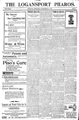 Logansport Pharos-Tribune from Logansport, Indiana on November 21, 1897 · Page 17