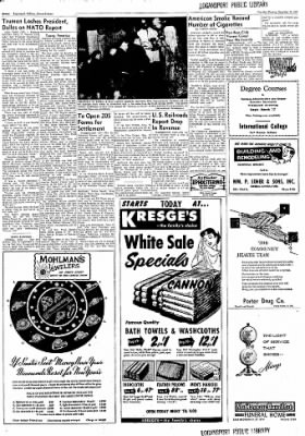 Logansport Pharos-Tribune from Logansport, Indiana on December 26, 1957 · Page 40