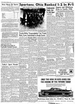 Logansport Pharos-Tribune from Logansport, Indiana on November 19, 1957 · Page 11
