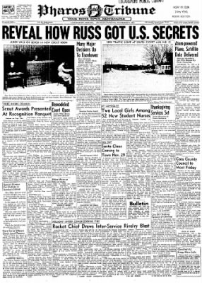 Logansport Pharos-Tribune from Logansport, Indiana on November 21, 1957 · Page 1