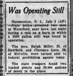 The Millville Daily from Millville, New Jersey on July 2, 1931 · 1