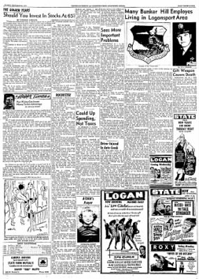 Logansport Pharos-Tribune from Logansport, Indiana on December 29, 1957 · Page 95
