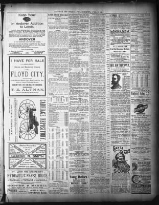 Sioux City Journal from Sioux City, Iowa on April 17, 1891 · 7