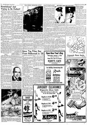 Logansport Pharos-Tribune from Logansport, Indiana on December 31, 1957 · Page 26