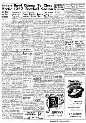 Logansport Pharos-Tribune from Logansport, Indiana on December 31, 1957 · Page 27
