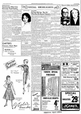 Logansport Pharos-Tribune from Logansport, Indiana on January 12, 1958 · Page 33