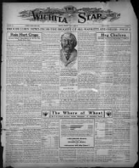 Sample The Wichita Star front page