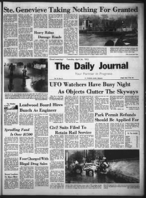 The Daily Journal from Flat River, Missouri on April 24, 1973 · 1