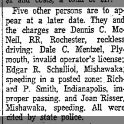 Dale Mentzel Court appearance Ralph Brother