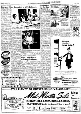 Logansport Pharos-Tribune from Logansport, Indiana on January 26, 1958 · Page 31