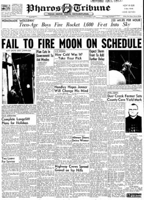Logansport Pharos-Tribune from Logansport, Indiana on December 4, 1957 · Page 1