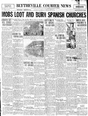 The Courier News from Blytheville, Arkansas on May 11, 1931 · Page 1