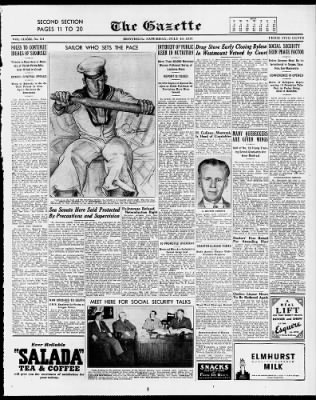 The Gazette from Montreal, Quebec, Canada on July 10, 1943 · 11