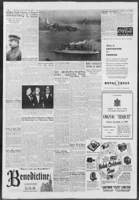 The Gazette from Montreal, Quebec, Canada on December 21, 1950 · 10