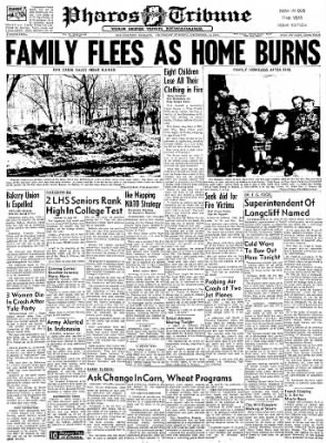 Logansport Pharos-Tribune from Logansport, Indiana on December 12, 1957 · Page 1