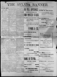 Sample Sylvia Banner front page