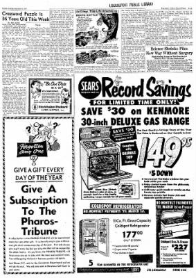 Logansport Pharos-Tribune from Logansport, Indiana on December 16, 1957 · Page 7