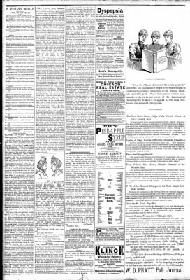 Logansport Pharos-Tribune from Logansport, Indiana on March 24, 1891 · Page 2