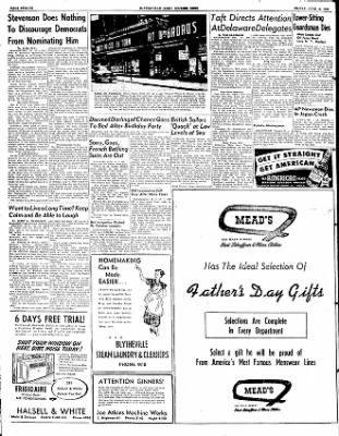 The Courier News from Blytheville, Arkansas on June 13, 1952 · Page 6