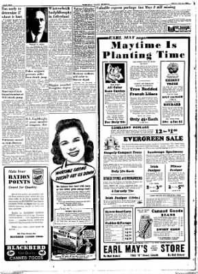 The Nebraska State Journal from Lincoln, Nebraska on May 14, 1943 · Page 4