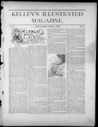 Sample Kelley's Illustrated Magazine front page