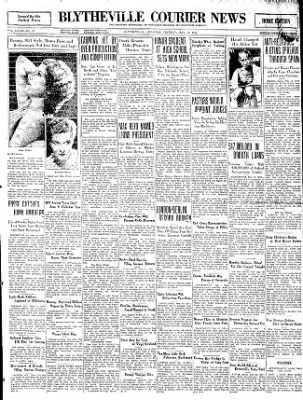 The Courier News from Blytheville, Arkansas on May 12, 1931 · Page 1