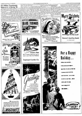 Logansport Pharos-Tribune from Logansport, Indiana on December 24, 1957 · Page 29