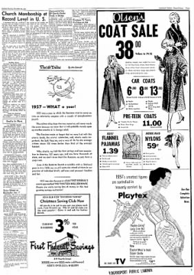 Logansport Pharos-Tribune from Logansport, Indiana on December 30, 1957 · Page 3