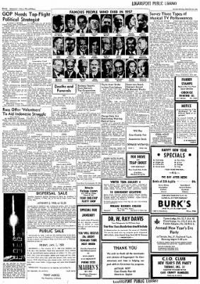 Logansport Pharos-Tribune from Logansport, Indiana on December 30, 1957 · Page 12