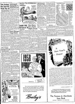 Logansport Pharos-Tribune from Logansport, Indiana on December 31, 1957 · Page 2