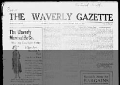 The Waverly Gazette