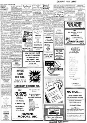 Logansport Pharos-Tribune from Logansport, Indiana on December 31, 1957 · Page 16