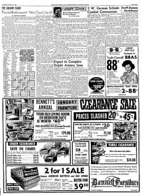 Logansport Pharos-Tribune from Logansport, Indiana on January 5, 1958 · Page 5