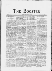 Sample The Booster front page