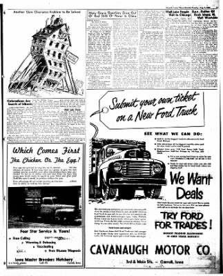 Carrol Daily Times Herald from Carroll, Iowa on August 9, 1949 · Page 11