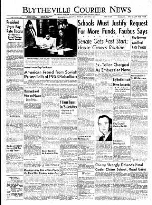 The Courier News from Blytheville, Arkansas on January 11, 1955 · Page 1