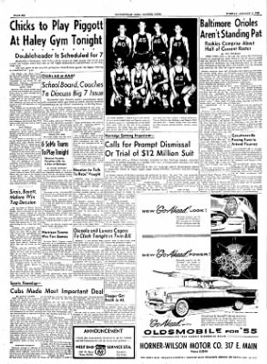 The Courier News from Blytheville, Arkansas on January 11, 1955 · Page 6