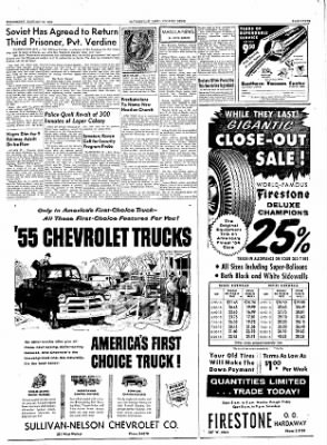 The Courier News from Blytheville, Arkansas on January 12, 1955 · Page 7