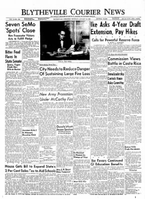 The Courier News from Blytheville, Arkansas on January 13, 1955 · Page 1