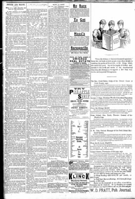 Logansport Pharos-Tribune from Logansport, Indiana on March 25, 1891 · Page 2