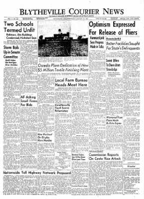 The Courier News from Blytheville, Arkansas on January 14, 1955 · Page 1