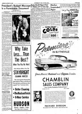 The Courier News from Blytheville, Arkansas on January 17, 1955 · Page 3