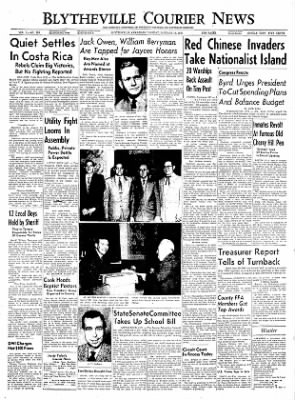 The Courier News from Blytheville, Arkansas on January 18, 1955 · Page 1
