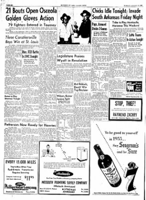 The Courier News from Blytheville, Arkansas on January 18, 1955 · Page 6