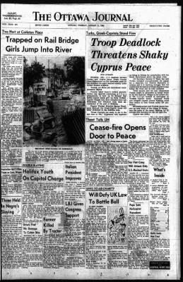 The Ottawa Journal from Ottawa,  on August 11, 1964 · Page 1