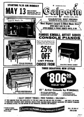 Sunday Gazette-Mail from Charleston, West Virginia on May 12, 1974 · Page 137