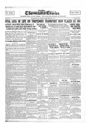 The Daily Courier from Connellsville, Pennsylvania on February 7, 1918 · Page 1