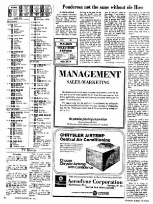 Sunday Gazette-Mail from Charleston, West Virginia on July 16, 1972 · Page 76