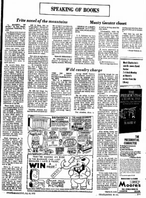 Sunday Gazette-Mail from Charleston, West Virginia on July 16, 1972 · Page 84